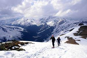 Tatry zimą. Ski-touring - kroki na fokach