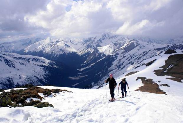 Tatry zim�. Ski-touring - kroki na fokach