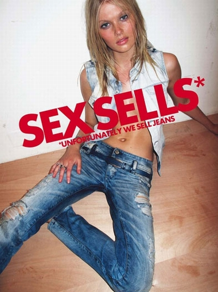 Diesel kampania wiosna/lato 2010 - Sex sells, unfortunately we sell jeans