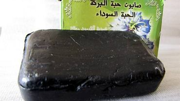 Pamiątka z Maroka: czarne mydło