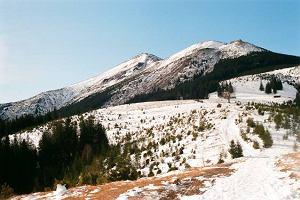 Czarnohora zim�. Na huculskich �cie�kach