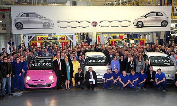 500 tys. Fiatów 500