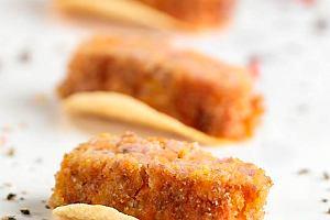 Kotlety mielone z marchewk� i czerwon� soczewic�