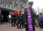 """""""Solidną pracą można osiągnąć bardzo wiele"""" - trwa pogrzeb Aleksandra Szczygły"""