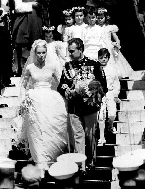 Grace Kelly i Książę Rainer, 19.04.1956r.