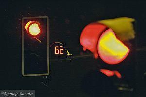 Kierowcy polubili liczniki na skrzy�owaniu w Jarotach