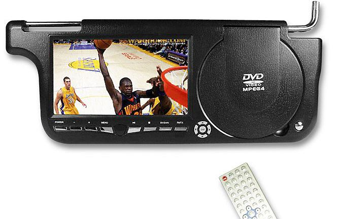 DVD Sunvisor DVD Player
