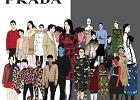 Niesamowity lookbook Prada