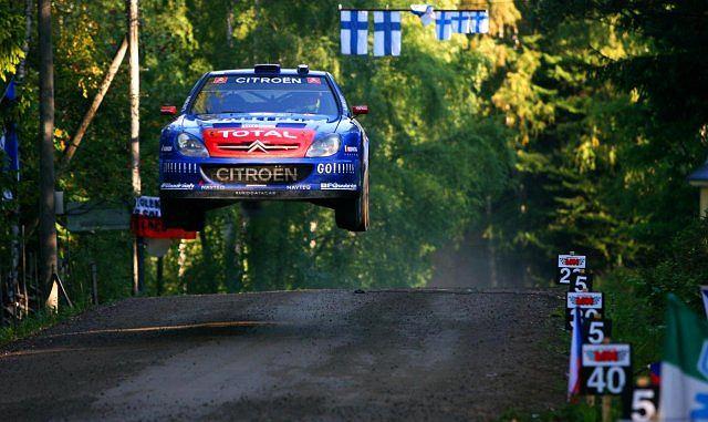 Sebastien Loeb Rajd Finlandii 2006