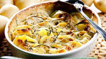 Zapiekanka z cukinii i ziemniaków