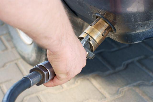 Tankowanie gazu LPG