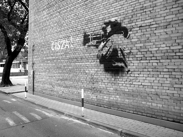 Nietypowy mural powsta na budynku wytw rni film w for Mural ursynow