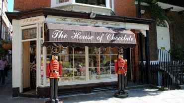 Szlakiem sklepików, cukierenek i innych lokali serwujących zestawy wyrobów z czekoladą