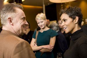 Podczas pobytu Halle Berry w Polsce zorganizowano spotkanie polskich aktorów z amerykańską gwiazdą.