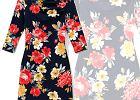 Na dwa sposoby: sukienka w kwiaty