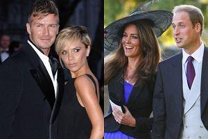 David i Victoria Beckham, książę William i Kate Middleton