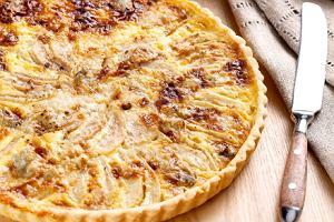 Tarta z gruszkami i gorgonzol�