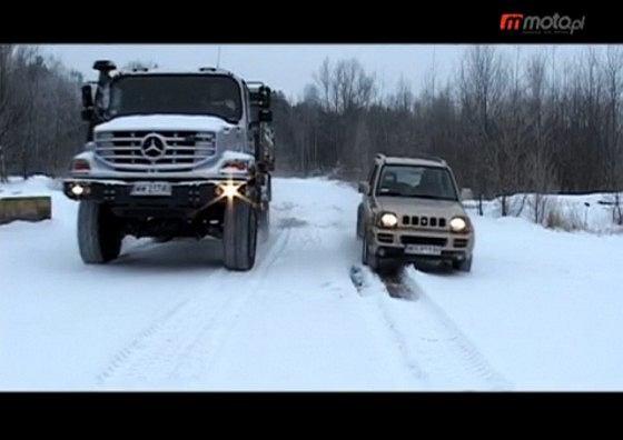 Suzuki Jimny i Mercedes Zetros