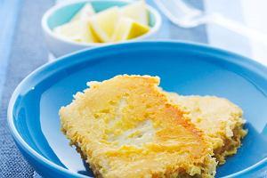Kostki rybne z czosnkiem w serowej panierce