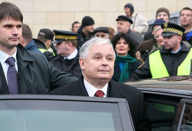 Paweł Janeczek, Lech Kaczyński