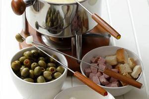 Pikantne serowe fondue