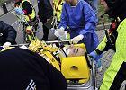 Powa�ny wypadek Kubicy w rajdzie Ronde di Andora. Polak dozna� licznych z�ama�. Nieoficjalnie: sprawno�� r�ki uratowana