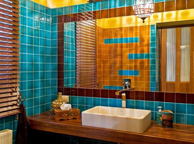 Łazienki w kolorze