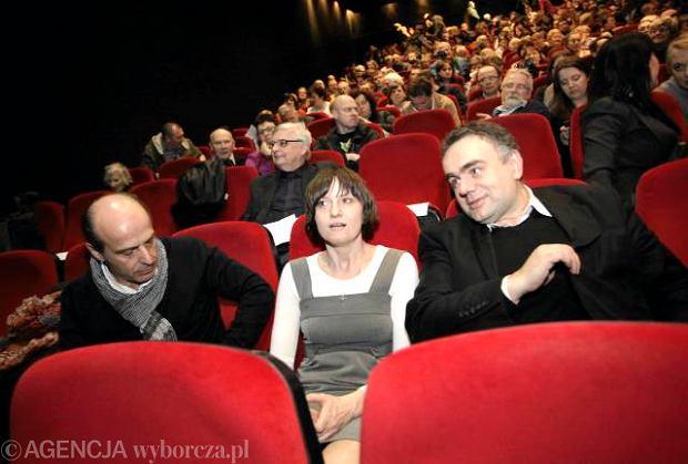 """Owacje na premierze """"Krzy�a"""". Ci�g dalszy """"Solidarnych"""""""