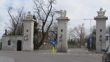 Brama wjazdowa do Akademii Obrony Narodowej w Rembertowie