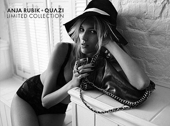 Zdjęcie numer 9 w galerii - Anja Rubik znowu reklamuje Quazi