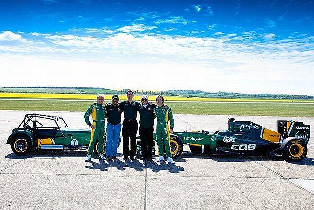 Team Lotus przejmuje Caterham Cars