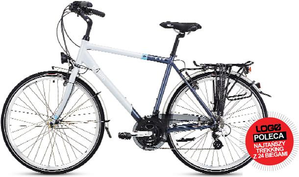 rowery, trekkingowy, B'TWIN