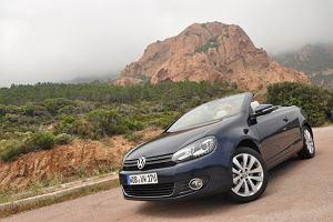 VW Golf Cabrio - test | Pierwsza jazda