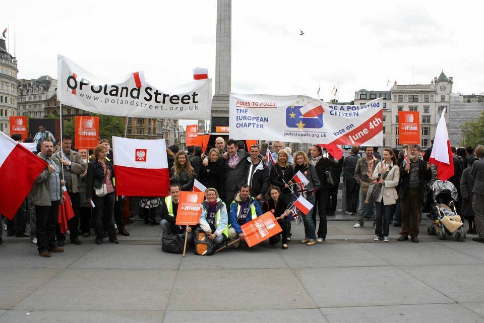 Londyńska demonstracja w obronie praw imigrantów