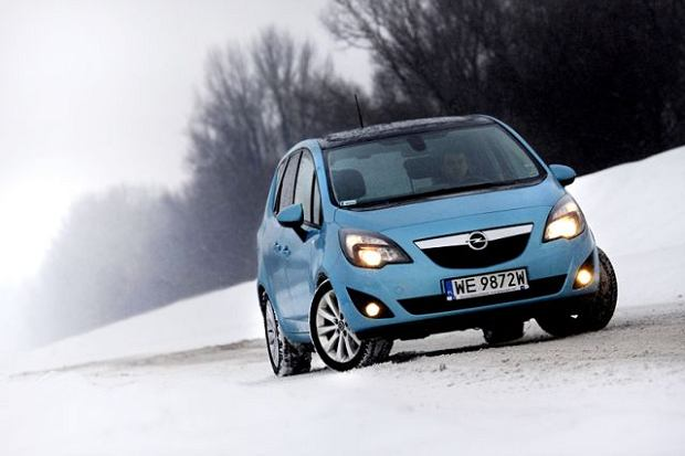 Opel Meriva 1.7 CDTI - test | Za kierownic�