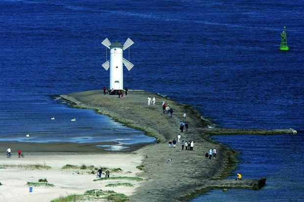 Wakacje na polskim morzem. Świnoujście