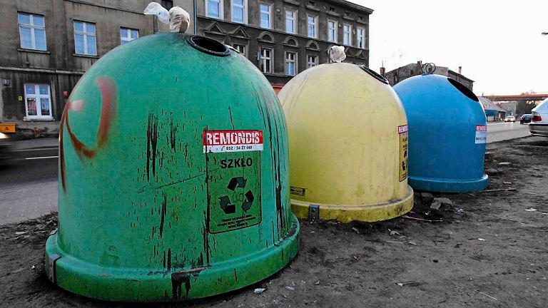 Pojemniki do segregacji śmieci