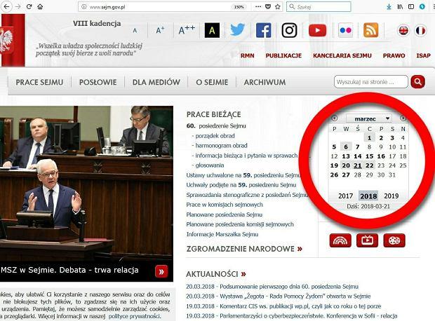 Posłowie skrócili czas posiedzenia Sejmu