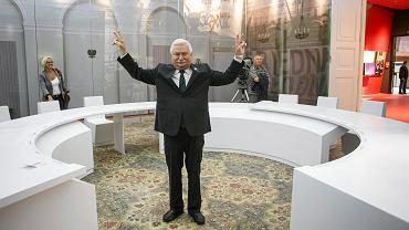 Lech Wałęsa podczas Otwarcia Europejskiego Centrum Solidarności w Gdańsku