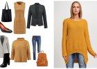 Musztardowe ubrania - gotowe stylizacje na jesie�/zim�