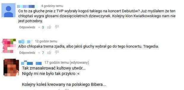 Komentarze pod filmem Jeremi Sikorski - 'Prześliczna wiolonczelistka'