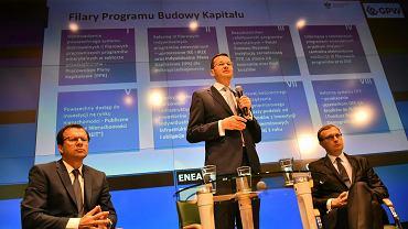 7Konferencja ministra Mateusza Morawieckiego w Warszawie