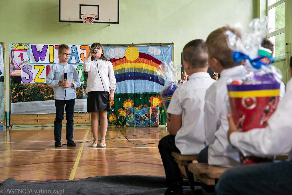 Rozpoczęcie roku w Szkole Podstawowej nr 11 w Katowicach