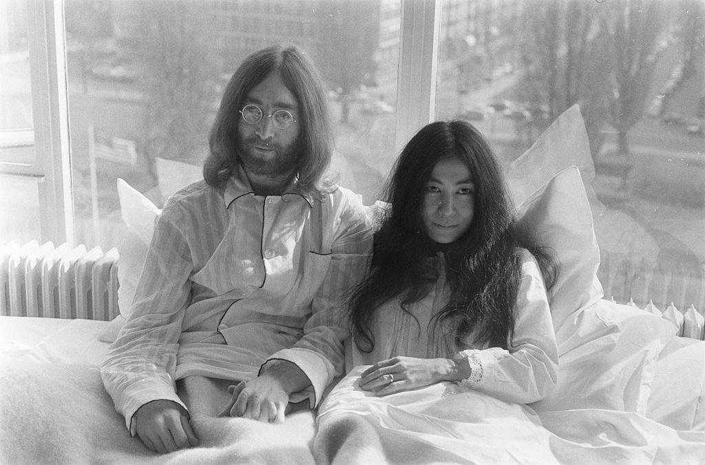 Yoko Ono i John Lennon / wikimedia commons/Nationaal Archief