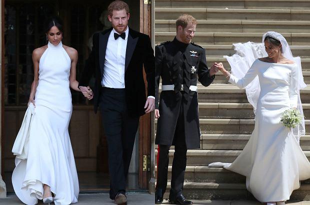 Meghan Miała Drugą Suknię ślubną Na Tle Skromnej Kreacji Uwagę
