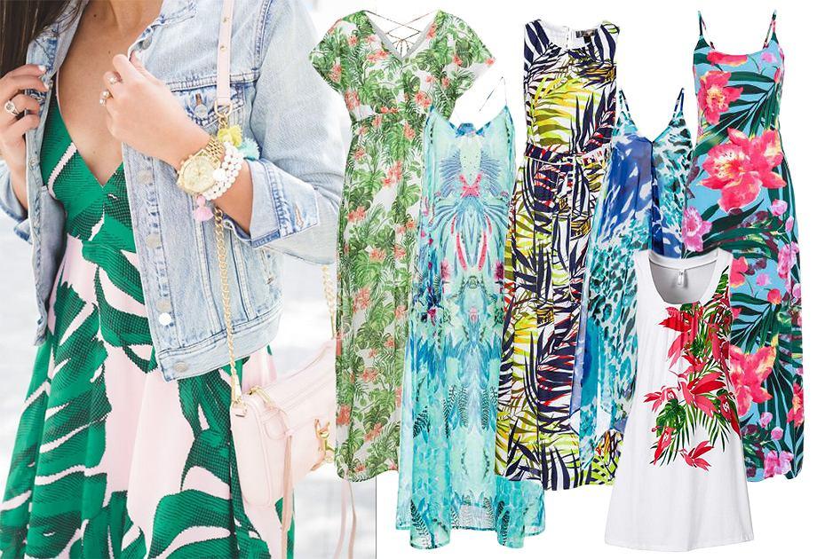 Sukienki z egzotycznym motywem