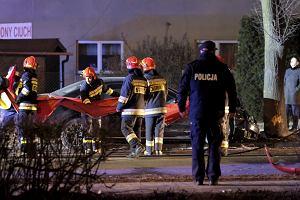 Wypadek limuzyny Beaty Szydło. Premier ma potłuczenia, trafiła do szpitala