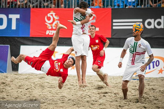 Brazylia i Tahiti rywalami Polski w mistrzostwach świata w piłce nożnej plażowej