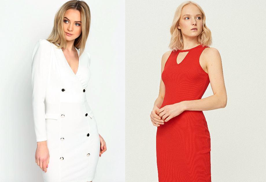 b5a0fc2a86 Dopasowana sukienka - czerwona