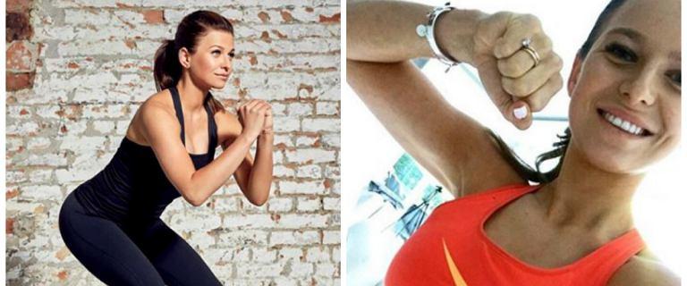 9 minutowy trening Ani Lewandowskiej na jędrne pośladki, możesz go zrobić wszędzie